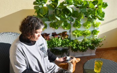 In the kitchen garden with… Joana Lobato